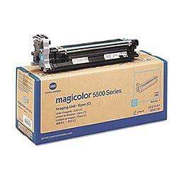 Konica Minolta Genuine Brand Name, OEM A0310GF Cyan Imaging Unit (30K YLD) for MagiColor 4600 Series, MagiColor 4650DN, MagiColor 4650EN, MagiColor 4690MF, MagiColor 4695MF, Magicolor 5550, Magicolor 5570, Magicolor 5650EN, Magicolor 5670EN Printers