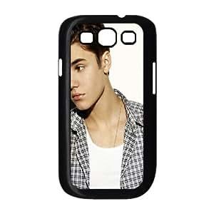 Justin Bieber Shirt Samsung Galaxy S3 9300 Cell Phone Case Black&Phone Accessory STC_172289