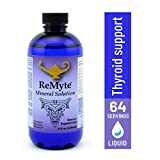 RnA ReSet - ReMyte Mineral Solution, Liquid Multi Mineral, Electrolyte Solution, 12 Minerals Including Iodine, Selenium, Zinc, Magnesium, Boron, 240 ml - by Dr. Carolyn Dean