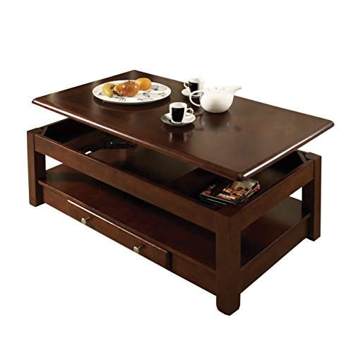 Steve Silver Company Nelson Lift-Top Cocktail Table, Cherry ()