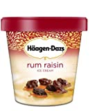 Haagen Dazs, Rum Raisin Ice Cream, Pint (8 Count)