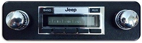 1978-1986 Jeep CJ & Scrambler 200 watt AM FM Car Stereo/Radio Fits Original Dash