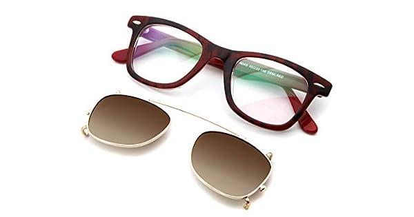 Amazon.com: Gafas de sol de acetato con forma de wayfare ...