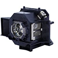 AuraBeam Professional Epson MovieMate72 Projector Replacement Lamp with Housing (Powered by Osram)