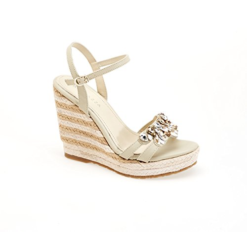 Apepazza - Sandalias de vestir de Piel para mujer blanco perla (ral 1013)