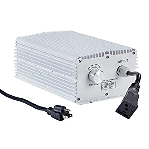 1000W HPS MH Digital Dimmable Double-Ended Grow Light Ballast UL ETL Listed for Plant Growing