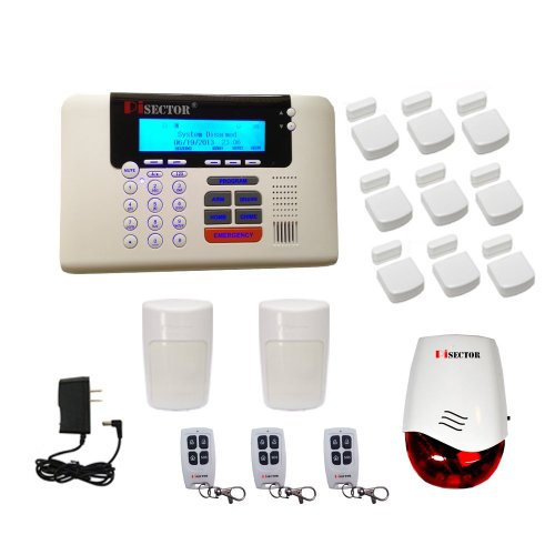 PiSector 4G Cellular GSM Wireless Security Alarm System Quad-band Support 2G/3G/4G network, Best Gadgets