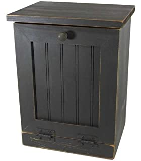 Trash Can Hideaway   Country Rustic Primitive