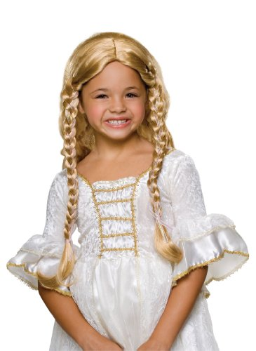 Rubies Child's Fairy Tale Princess Blonde Costume Wig ()