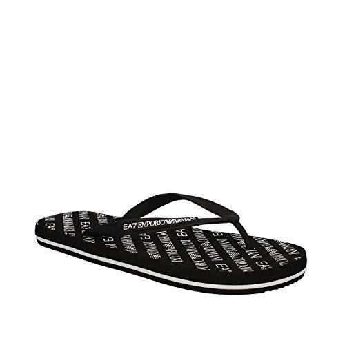 chanclas goma sea Black 00020 Armani sandalias hombres EA7 nuevo world en Emporio Nero zapatillas gXHxq