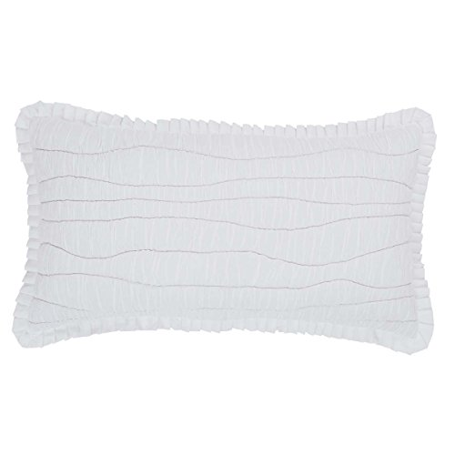 VHC Brands Coastal Farmhouse Bedding - Aurora White Sham, King