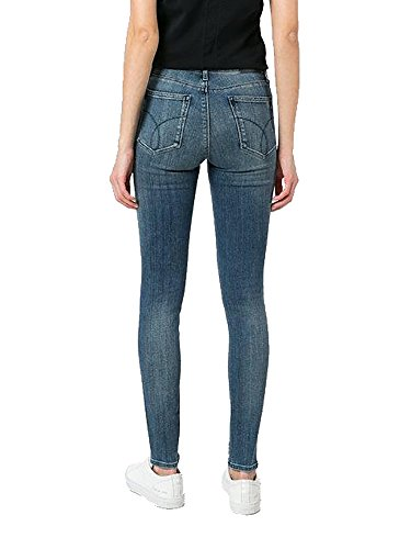 Skinny Calvin Klein Blue Jeans Rise Desert qUxtw6fzU