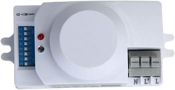 Kadola-220V 5.8GHz Interruptor de sensor de movimiento para ...