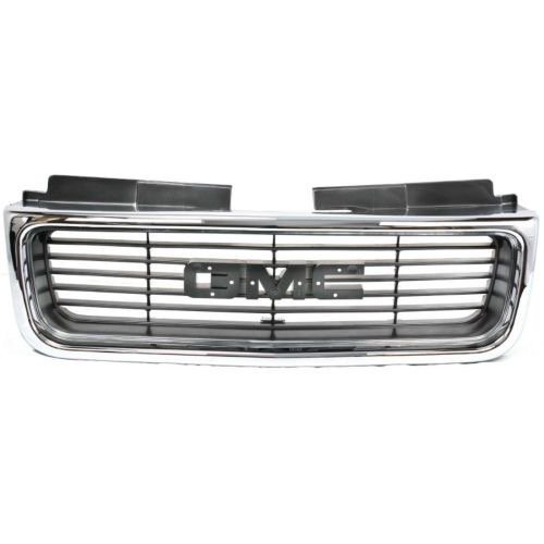 Go-Parts » Compatible 1998-2001 GMC S15 Jimmy + Envoy Grille Assembly 15015056 GM1200422 Replacement For GMC Envoy