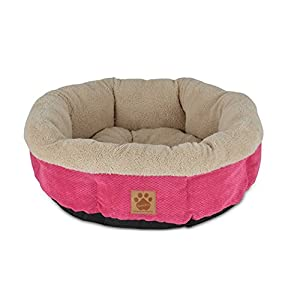 Precision Pet SnooZZy Mod Chic Round Shearling Cup Bed 72