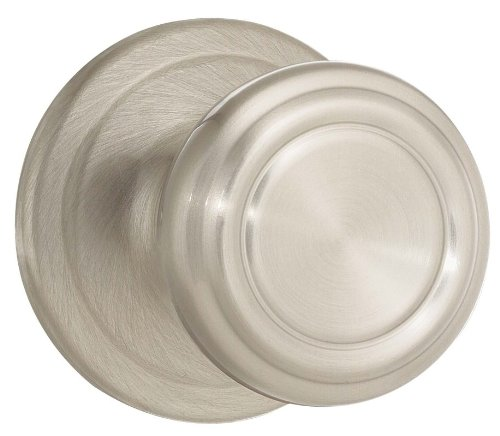 Kwikset 978CN-15 Cameron Interior Single Cylinder Montara Handleset Trim Satin Nickel ()