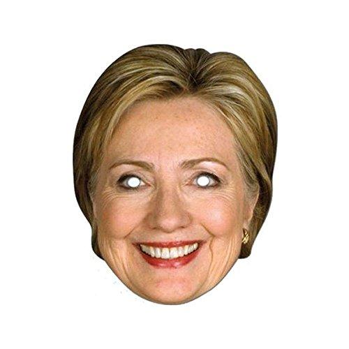 Forum Novelties Hillary Clinton Celebrity Politician Card Face Paper -