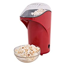 Ozeri OZP1 Movie Time 26 Cup Healthy Popcorn Maker, Red