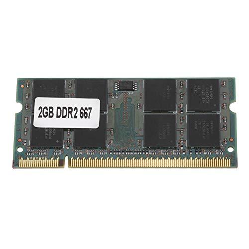 2G DDR2 RAM, Bewinner DDR2 2G 667Mhz RAM voor PC2-5300 Notebook, 200Pin RAM DDR2 Memory Fit voor Intel / AMD-moederbord…
