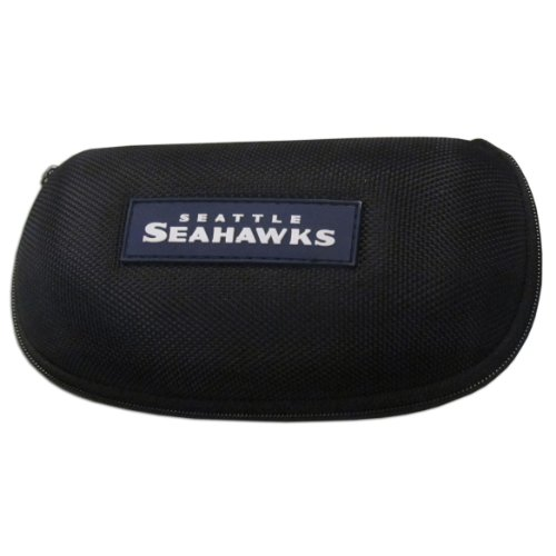 Siskiyou NFL Seattle Seahawks Zippered Sunglass - Case Molded Nfl