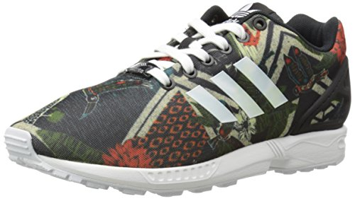 Adidas Original Femmes Zx Flux W Lace-up Fashion Sneaker Noir / Blanc / Noir