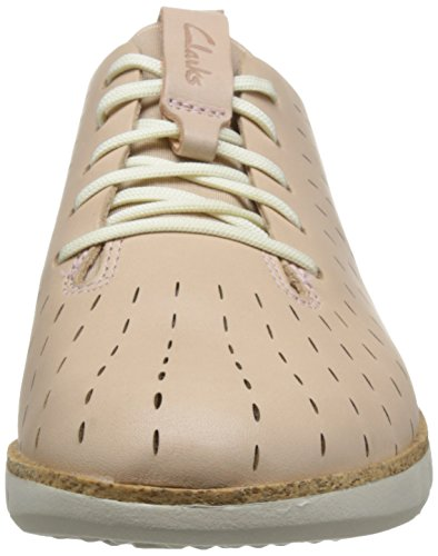 CLARKS Chaussures Pour Femme 26132527 Tri Etch Nude Pink Lea