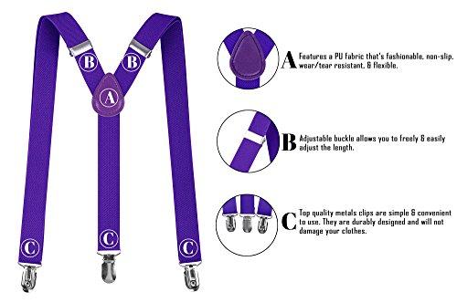 7db47319e70 Denovit Men   Women s Classic Dapper Adjustable Suspender Belt Straps