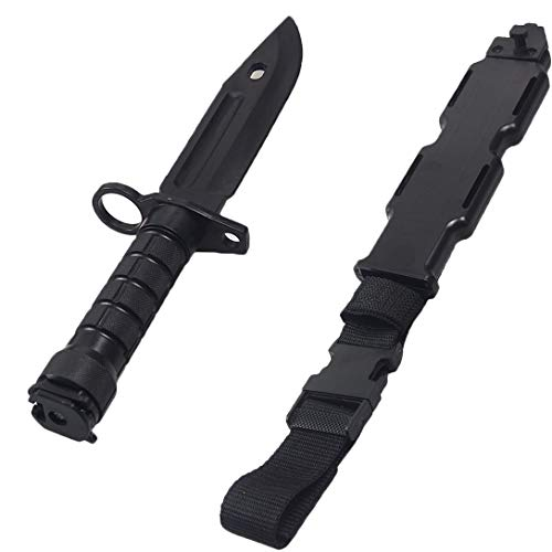 Tactical Rubber Knife with Scabbard/Sheath Military for sale  Delivered anywhere in USA
