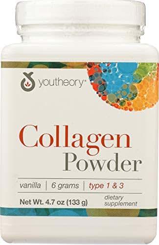 Youtheory (NOT A CASE) Collagen Powder Vanilla
