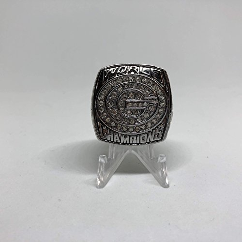 (Brett Favre Green Bay Packers High Quality Replica 1996 Super Bowl XXXI Championship Ring Size 10.5-Silver Colored US SHIPPING)
