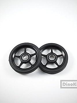 F + aluminio ultraligero Peso negro fácil ruedas con Ti Juego de pernos para Brompton Bicicleta