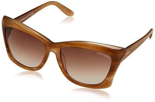 Tom Ford Lana Sunglasses, Honey - Sunglasses Ford Tom Brown