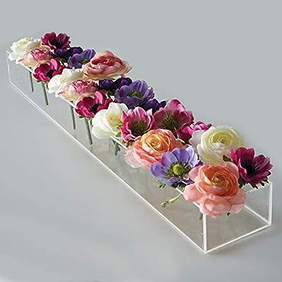 E&F Modern Designs Elegant Low Laying Vase