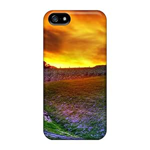 New Style DaMMeke Hard Case Cover For Iphone 5/5s- Sunset Soon Forgotten