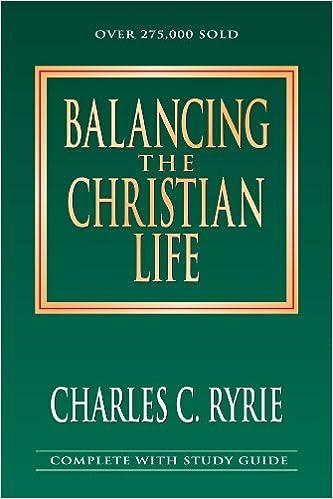 Amazon com: Balancing the Christian Life (9780802408877