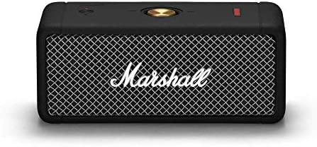 Marshall Emberton Transportable Bluetooth Speaker, Black