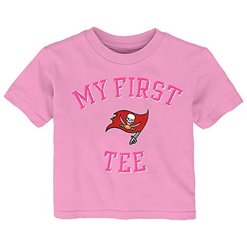 - Outerstuff Tampa Bay Buccaneers NFL Toddler Pink First Pink T-Shirt