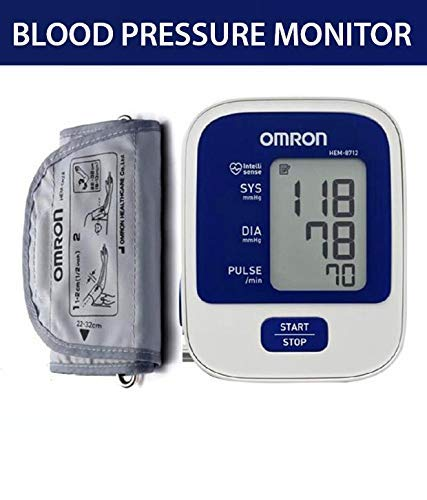 Amazon.com: Omron HEM 8712 Blood Pressure Monitor: Health & Personal Care