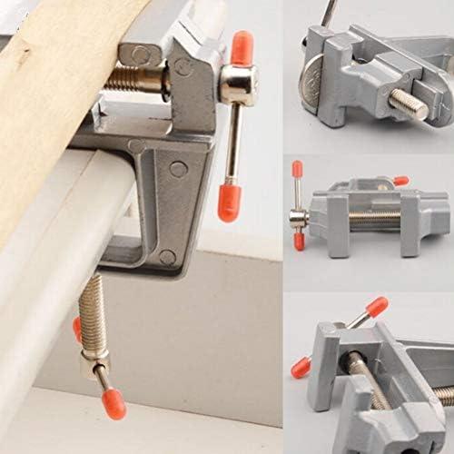 """GENERICS LSB-Werkzeuge, 1 Stücke 3,5""""Kleine Juweliere Hobby Clamp Auf Tisch Schraubstock Mini Tool Vice Aluminium Miniatur"""