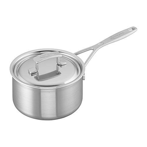 (Demeyere Industry 5-Ply 2-qt Stainless Steel Saucepan )