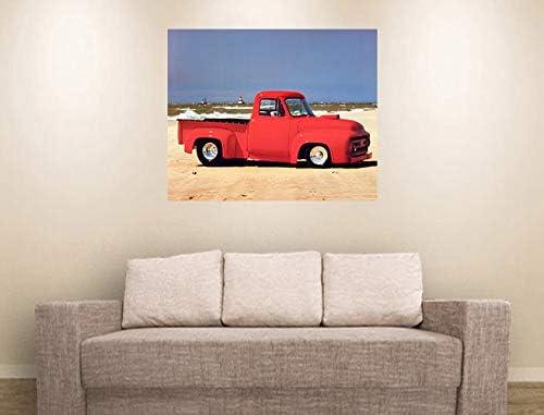 8x10 1940 Ford Pickup Truck Harley Koopman Vintage Picture Art Print