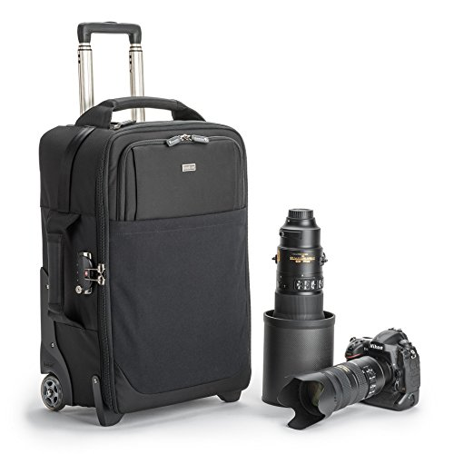Think Tank Photo Airport Security V3.0 Rolling Carry On Camera Bag (Black) (Boeing 737 500 Jet)