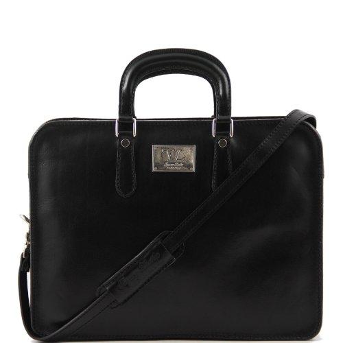 Tuscany Leather Vernazza-Sacoche porte-documents pour ordinateur portable en cuir de