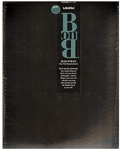 Bainbridge Black On Black Board (Pack of 25) 1 pcs sku# 1832800MA by Bainbridge