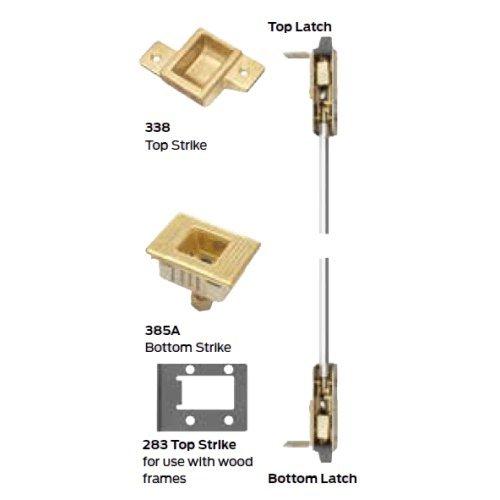 EO 315 Concealed Vertical Rod Device for Wood Door Von Duprin 9847WDCEO3154 9847WDC 4 4/'
