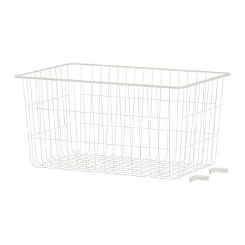 IKEA ALGOT -Drahtkorb weiß - 38x60x29 cm: Amazon.de: Küche & Haushalt