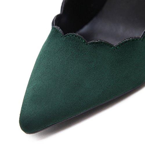 de la clásico green Mujer en zapatos primavera tacón gPxOw