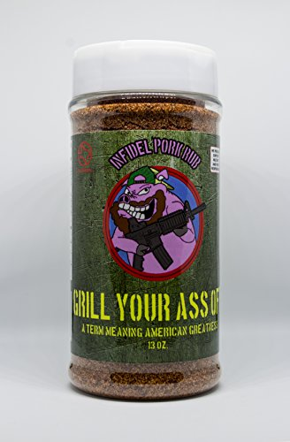 Infidel Pork Rub by Grill Your Ass Off