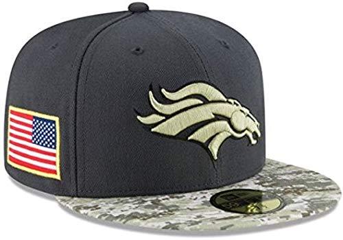New Era 59 FIFTY gorra NFL Denver Broncos 2016 saludo a Servicio ...