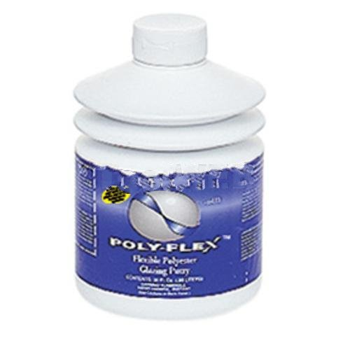 Poly-Flex? Flexible Polyester Glazing Putty - 30 oz-2pack by Fibreglass Evercoat (Image #1)